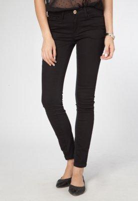 Calça Jeans Skinny Londres Preta - Carmim