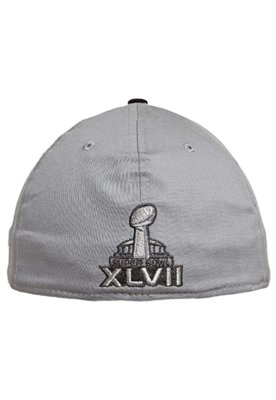 Boné New Era Super Bowl 39Thirty NFL Cinza