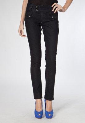 Calça Jeans Sawary Skinny Impious Preta