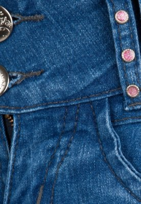 Calça Jeans Sawary Shine Azul