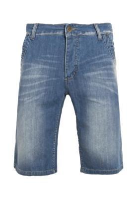 Bermuda Jeans Flot Azul - Sawary