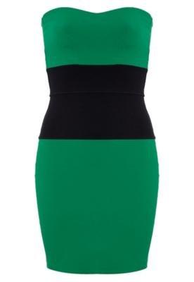 Vestido Petit Faixa Verde - Sommer