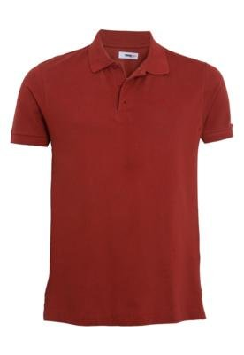 Camisa Polo Forum Muscle Unic Marrom
