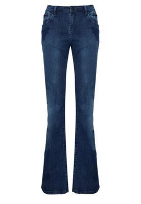 Calça Jeans SPezzato Flare Moore Azul