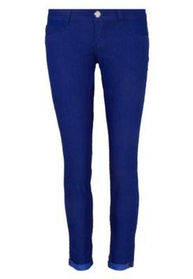 Calça Jeans Sawary Skinny Clean Azul