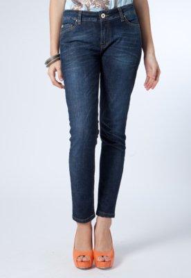 Calça Jeans Ellus Skinny Cropped Cross Light Azul