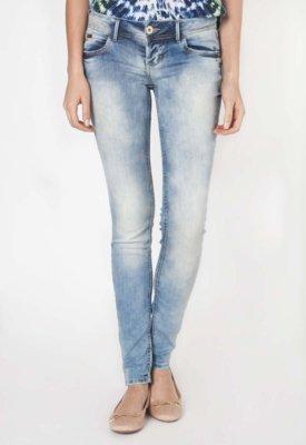 Calça Jeans Colcci Skinny Delavê Azul