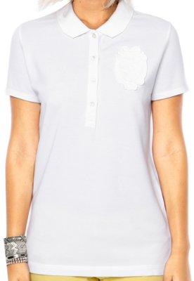 Camisa Polo Lacoste Vida Branca