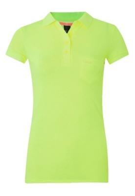 Camisa Polo Colcci Slim Bolso Verde