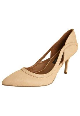 Sapato Scarpin Anna Flynn Vazado Nude