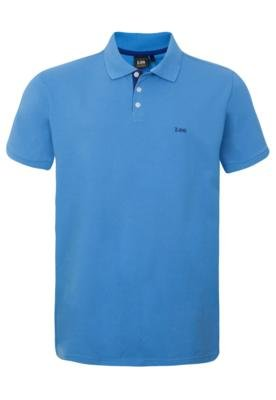 Camisa Polo Lee Enjoy Azul