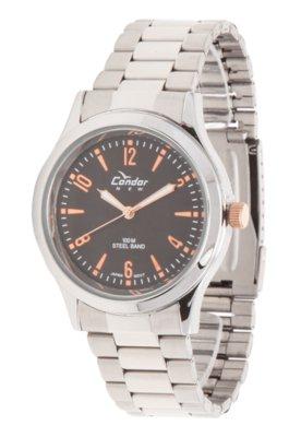 Relógio KT20899P Condor Prata