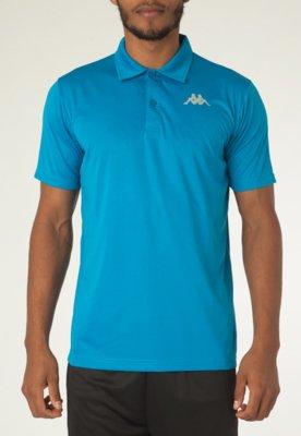 Camisa Polo Kappa Sewill Azul