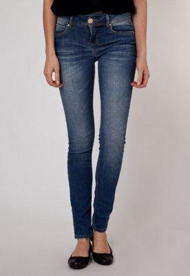Calça Jeans Colcci Skinny Queen Azul