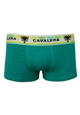 Cueca Boxer Unique Verde - Cavalera