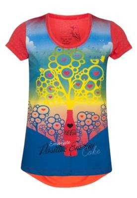 Blusa Small Coca Cola Eco Vermelha - Coca Cola Clothing