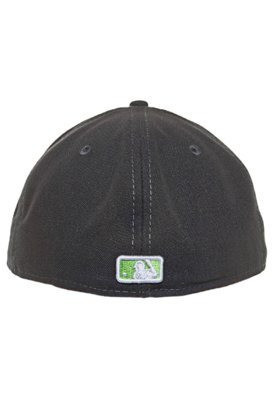 Boné 59Fifty Logomotion Oakland Athletics Preto - New Era
