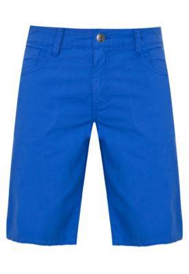 Bermuda Sarja Benjamin Color Pratic Azul - Colcci