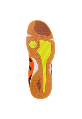 Chuteira Futsal Max Viento R1 Preta/Coral/Branca - Penalty