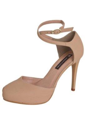 Sapato Scarpin Anna Flynn Sophia Bege