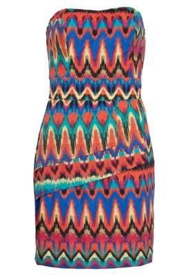 Vestido Mercatto Fashion Multicolorido