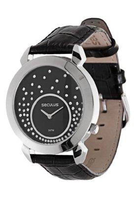 Relógio 50013L0SSNRE Preto - Seculus