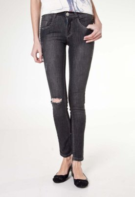 Calça Jeans Biotipo Skinny SPikes Preta