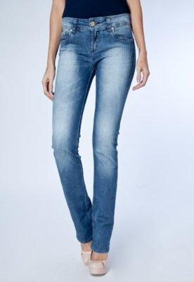 Calça Jeans Colcci Fátima Reta Style Azul