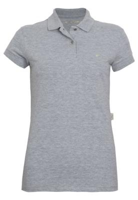 Camisa Polo Ellus Mine Cinza