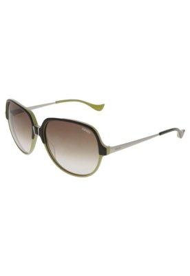 Óculos Solar Kenzo Bicolor Verde