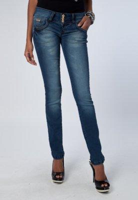 Calça Jeans Skinny Triton Forever Azul