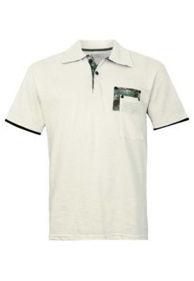 Camisa Polo FiveBlu Paul Off-White