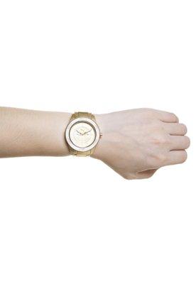 Relógio Puma Tube Multifunction Dourado/Branco