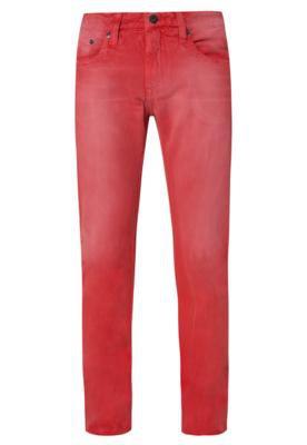 Calça Jeans Colcci Skinny Street Vermelha
