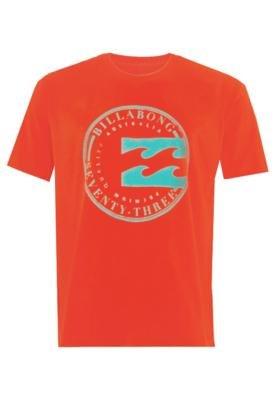 Camiseta Billabong Onda Laranja
