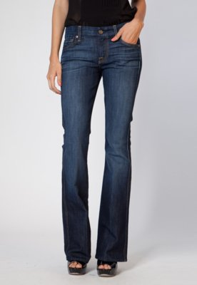 Calça Jeans 7 for all Mankind Flare New Azul