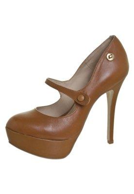 Sapato Scarpin Carmin Boneca Meia Pata Caramelo - Carmim