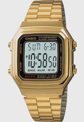 Relógio Casio A178WGA-1ADF Dourado