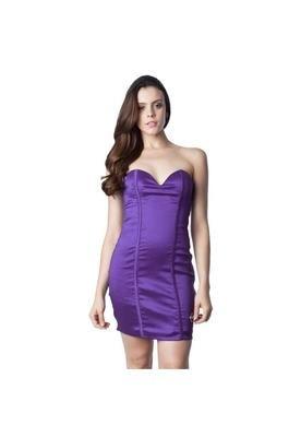 Vestido Liso Roxo - On Top