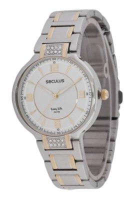 Relógio Seculus 28172LPSBBA2 Prata