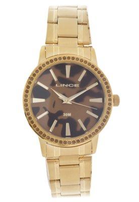 Relógio Lince LRG4192L M1KX Dourado