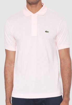 Camisa Polo Style Rosa - Lacoste