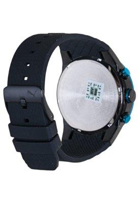 Relógio Puma Fast Track - L Preto/Azul