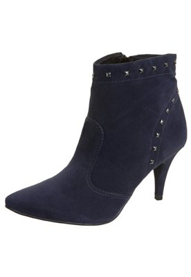 Ankle Boot SPikes Pirâmides Azul - Crysalis