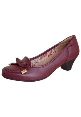 Sapato Scarpin Modern Vinho - Anna Flynn