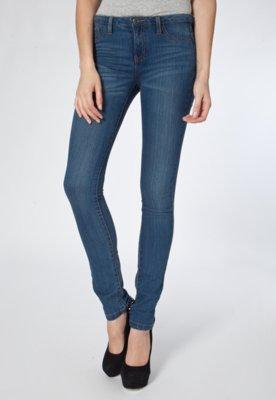 Calça Jeans Skinny Sunny Azul - MNG Barcelona