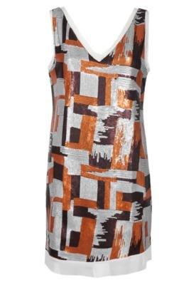 Vestido Paetê Cinza - Shoulder