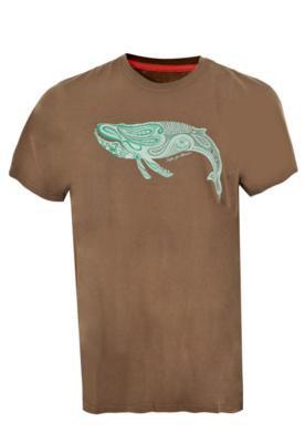 Camiseta Billabong Paisley Marrom