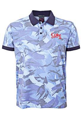 Camisa Polo Coca Cola Clothing Australia Azul