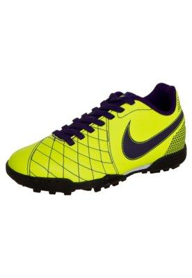 Chuteira Society Nike Jr Flare TF Amarela